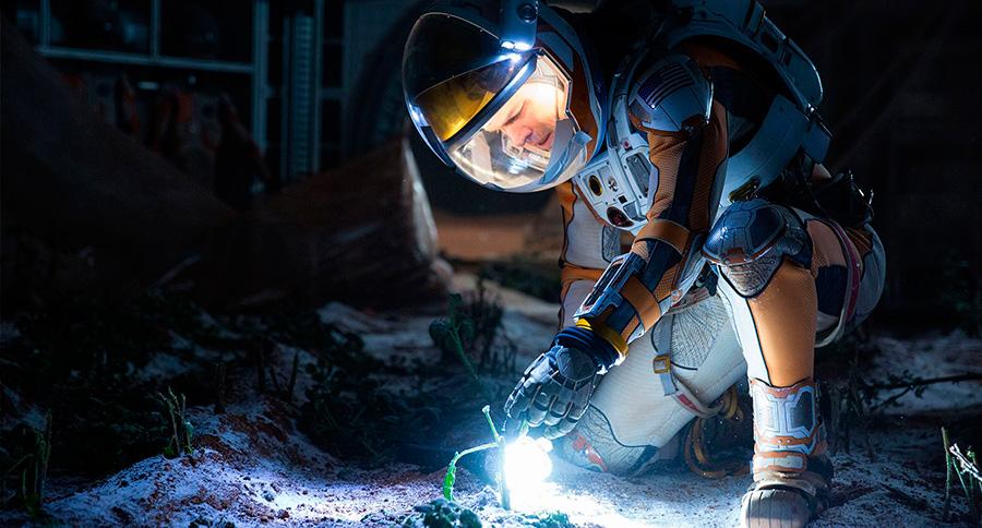 Marte (The Martian) / Sí: en Marte se pueden cultivar patatas