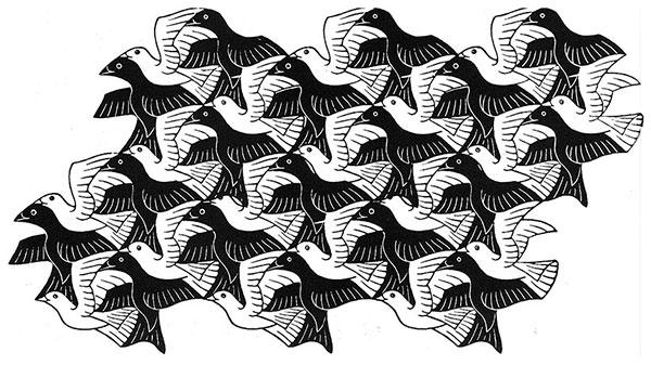 M.C. Escher - Animales