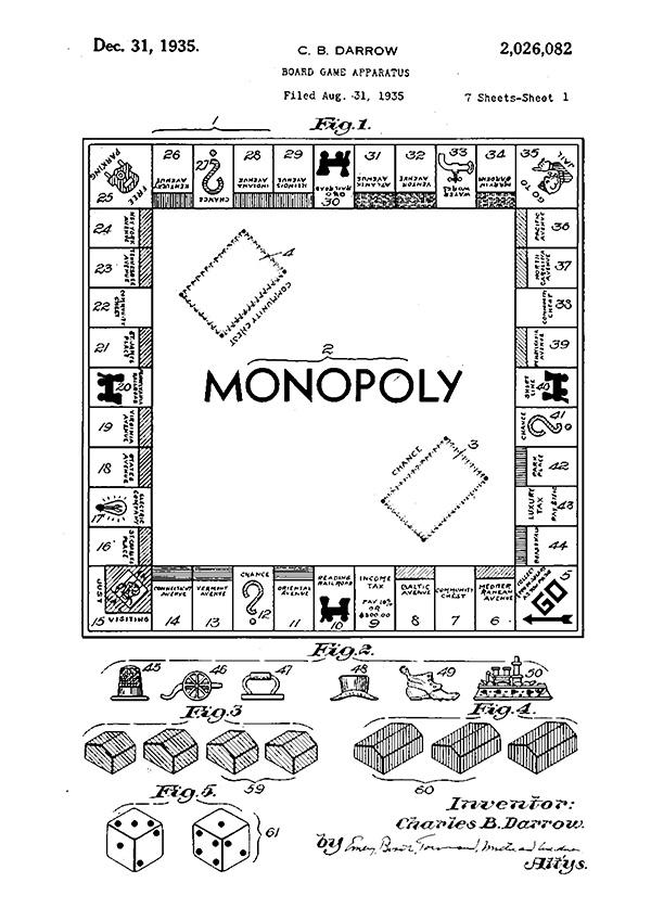 Patente del Monopoly
