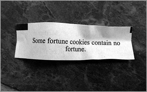 Nofortunecookie