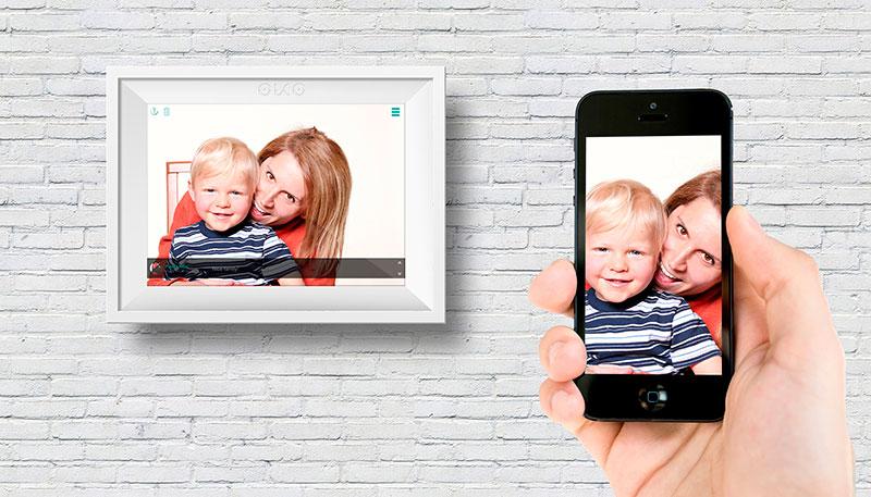 Oko: el marco digital con vida social | Microsiervos (Gadgets)