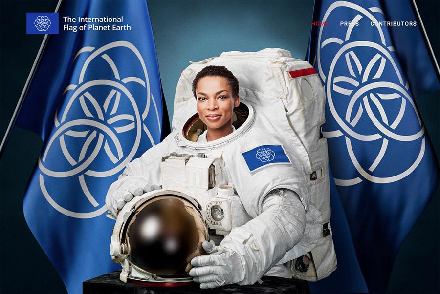 Planet Earth Flag