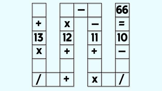 Un problema de números para niños