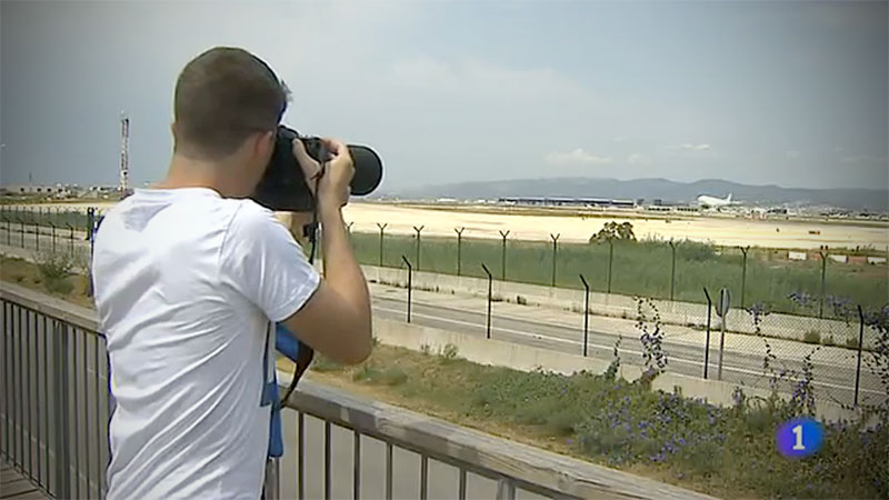 Spotters en RTVE