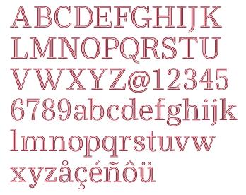 Ryman-Font