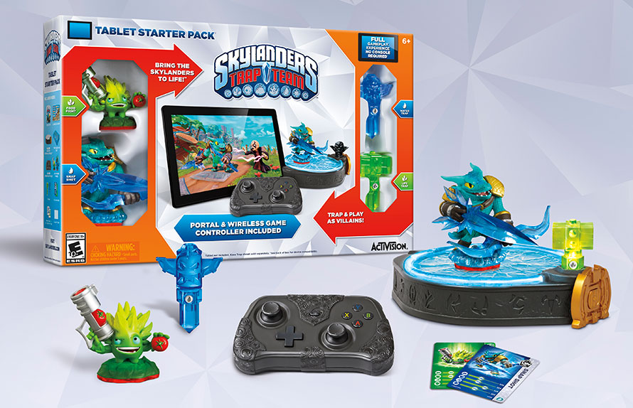 Skylanders Trap Team Starter-Pack