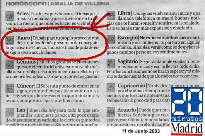 11 de junio: hace hoy 12 años los Tauro tuvieron un «muy mal día»