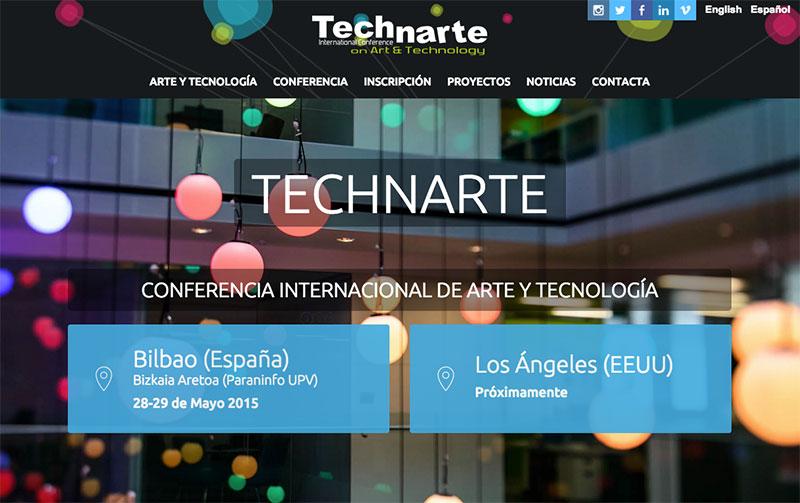 Technarte: arte y tecnología en Bilbao (del 28 al 29 de mayo)