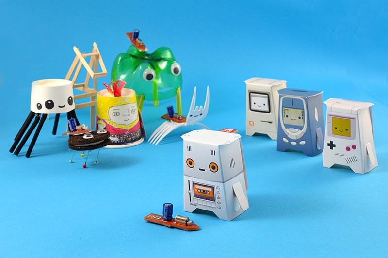 The crafty robot