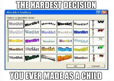 The-Hardest-Decision-Wordart