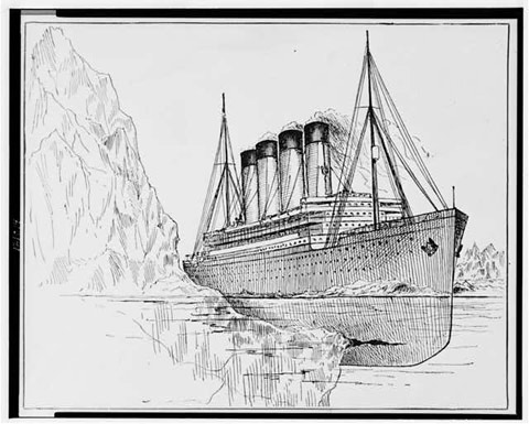 El accidente del Titanic / New York World-Telegram / Sun Newspaper / Bettman Archive