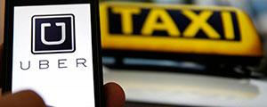 Cataluña cose Uber a multas para apaciguar al taxi