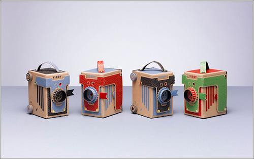 Viddy: una simpática cámara de cartón que se monta en 30 minutos