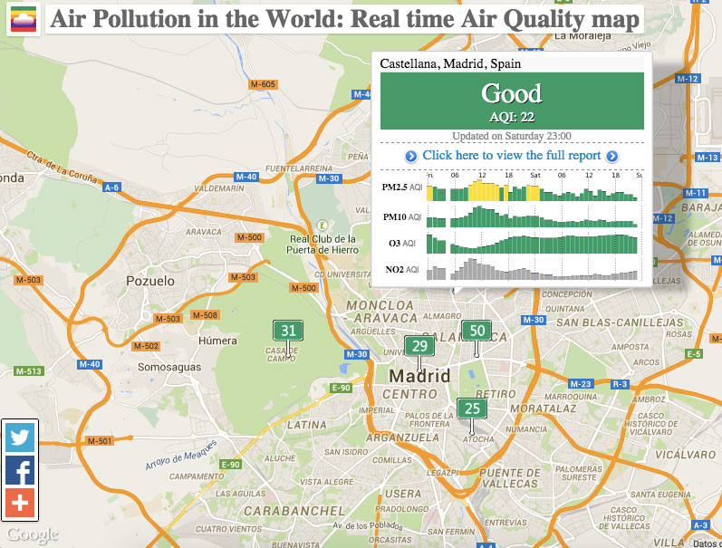 WQAI: World Air Quality Index