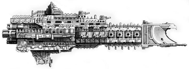 La taxonomía de las naves espaciales de la ciencia-ficción: Warhammer 40K