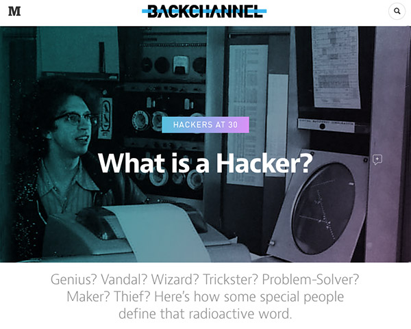 What is a Hacker / Steven Levy