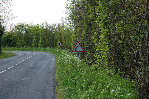 Right Turn Ahead por AllanThinks