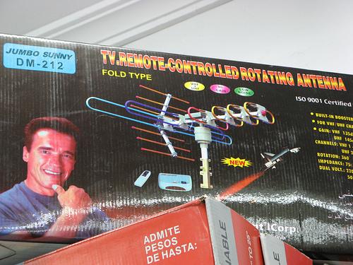 Arnold vende antenas por gambolpuddy