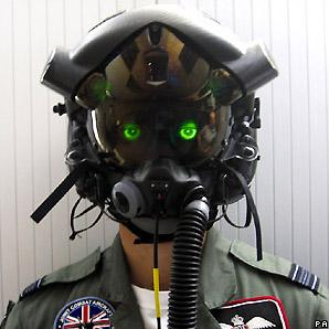 Casco para pilotos de F35