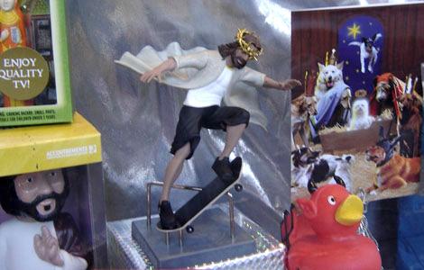 Jesús en un monopatín por triviaqueen