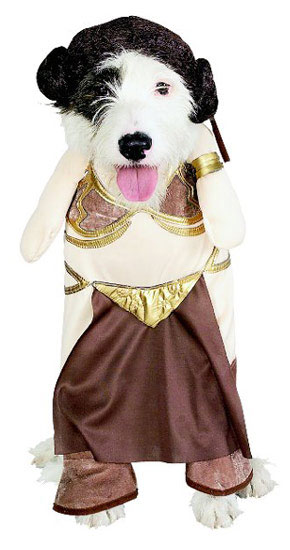 Slave Leia pet costume