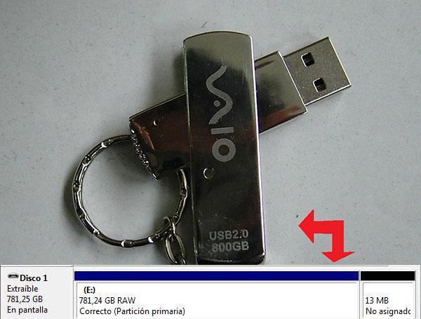 Pendrive 800 GB