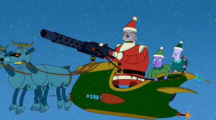 Futurama: Robot Santa Claus