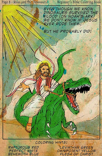 Jesus-Velocirraptor