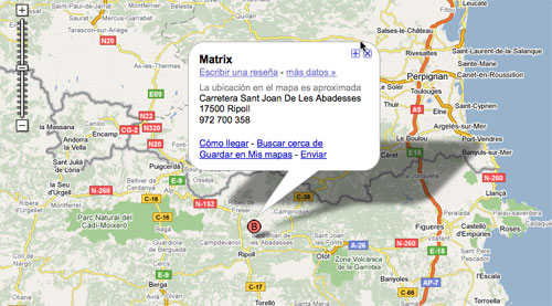 Matrix-Map-Girona