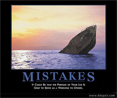 Titanic Motivacional © Demotivators