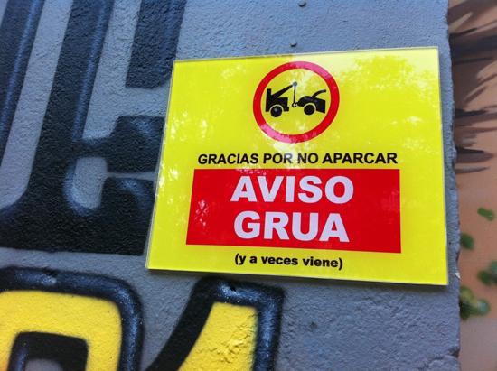 No aparcar por Miguel