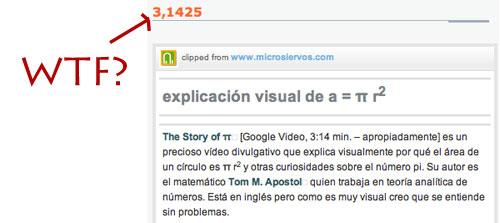 Pi = 3,1425…WTF!