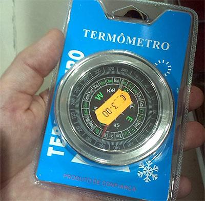 Termometro-Brujula